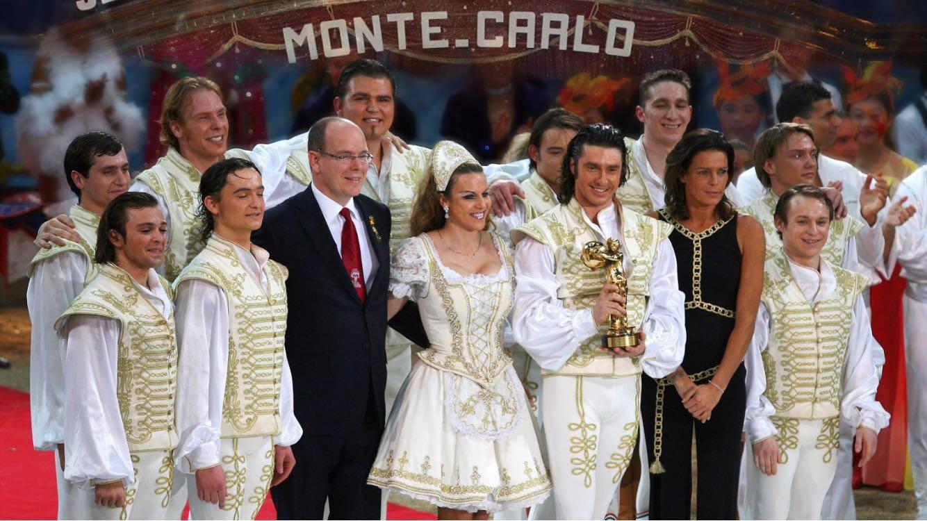 Monte Carlo - az Arany Bohóc Díj átvétele